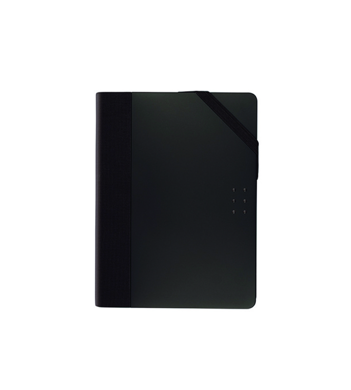 Cahier pocket colours noir points