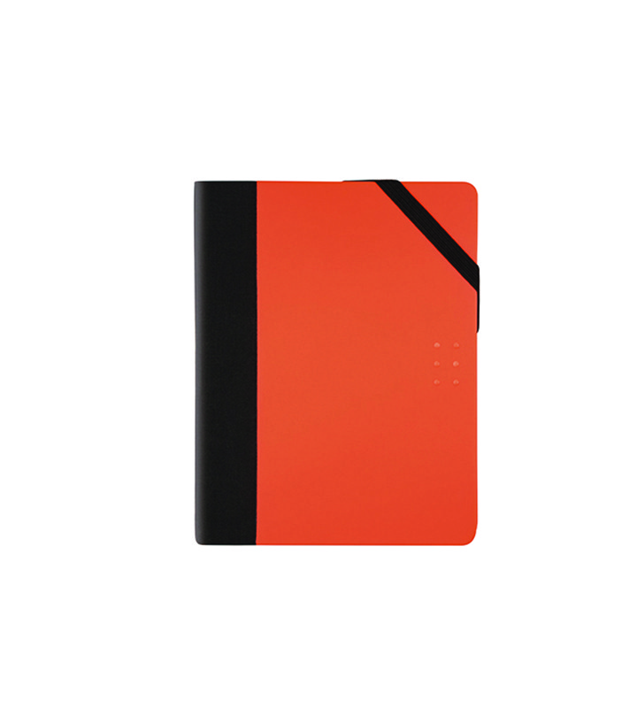 Cahier pocket fluo orange points